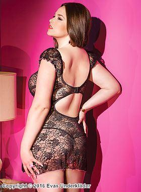 latex klänning plus size underkläder